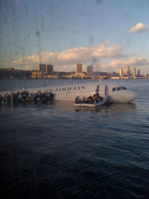 Plane Crash Hudson River  I